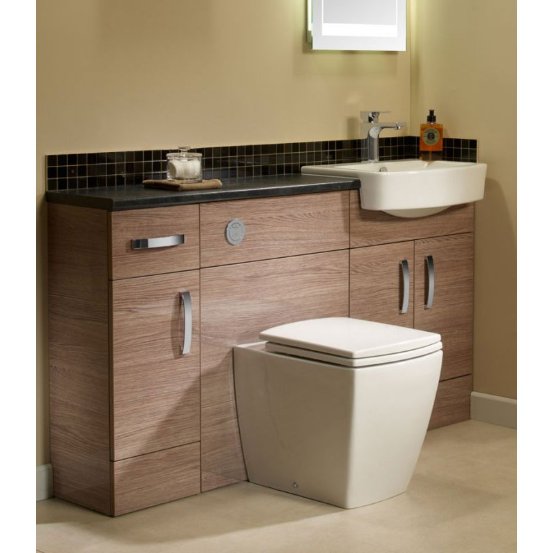 Tavistock Courier 600mm Semi-Countertop Unit & Basin - Montana Gloss profile large image view 3