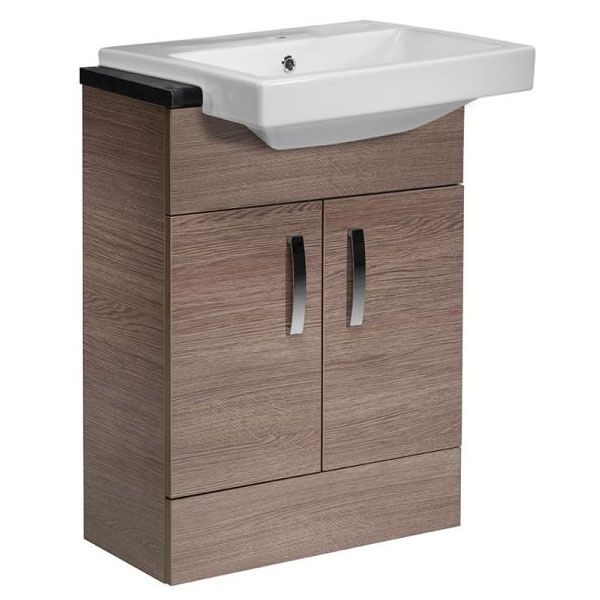 Tavistock Courier 600mm Semi-Countertop Unit & Basin - Montana Gloss Large Image