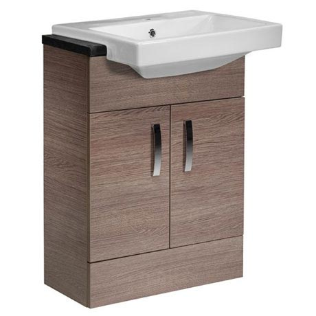 Tavistock Courier 600mm Semi-Countertop Unit & Basin - Montana Gloss