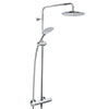 Bristan Carre Exposed Fixed Head Bar Shower with Diverter + Kit profile small image view 1