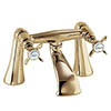 Deva Coronation Bath Filler - Gold profile small image view 1
