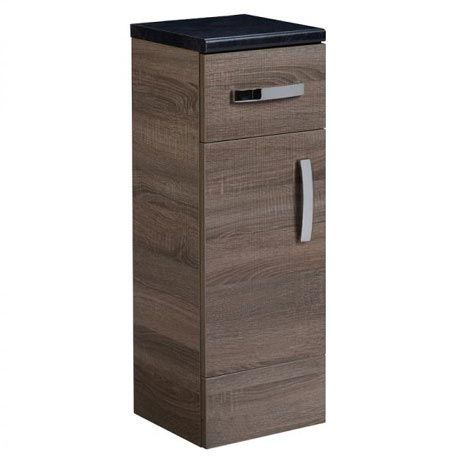 Tavistock Courier 300mm Freestanding Storage Unit - Havana Oak