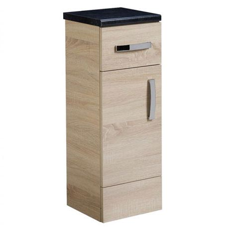 Tavistock Courier 300mm Freestanding Storage Unit - Oregon Oak