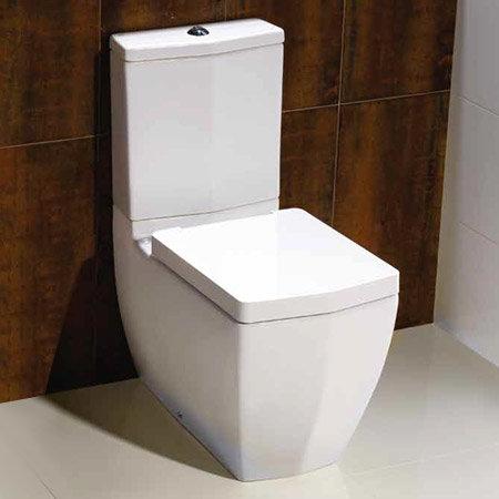 RAK Credenza Close Coupled Toilet with Soft Close Seat Profile Large Image