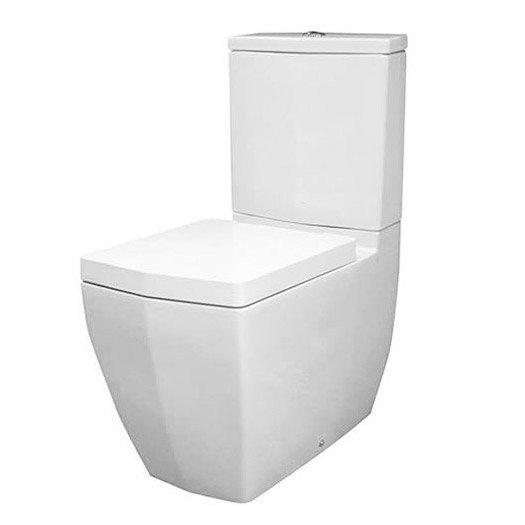 RAK Credenza Close Coupled Toilet with Soft Close Seat Large Image