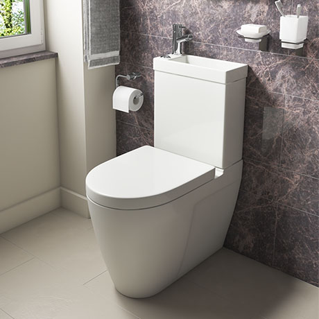 Iconic Combined Two-In-One Wash Basin + Toilet