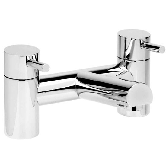Cruze Contemporary Freestanding Bath Filler - Chrome Profile Large Image