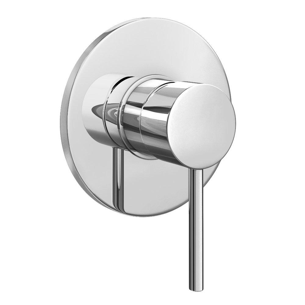 Cruze Modern Concealed Manual Shower Valve - Chrome