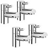 Cruze Modern Basin + Bath Tap Set profile small image view 1