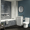 Cruze Modern Bathroom Suite profile small image view 1