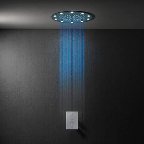 Cruze 400mm LED Round Shower Package with Concealed Valve