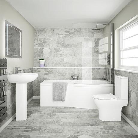 Cruze Modern Shower Bathroom Suite