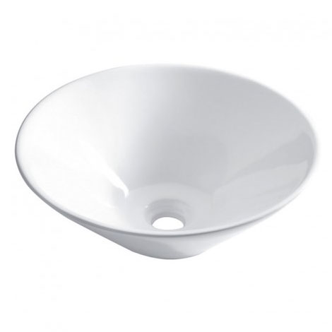 Bauhaus - Cáceres Countertop Basin - 420 x 420mm profile large image view 1