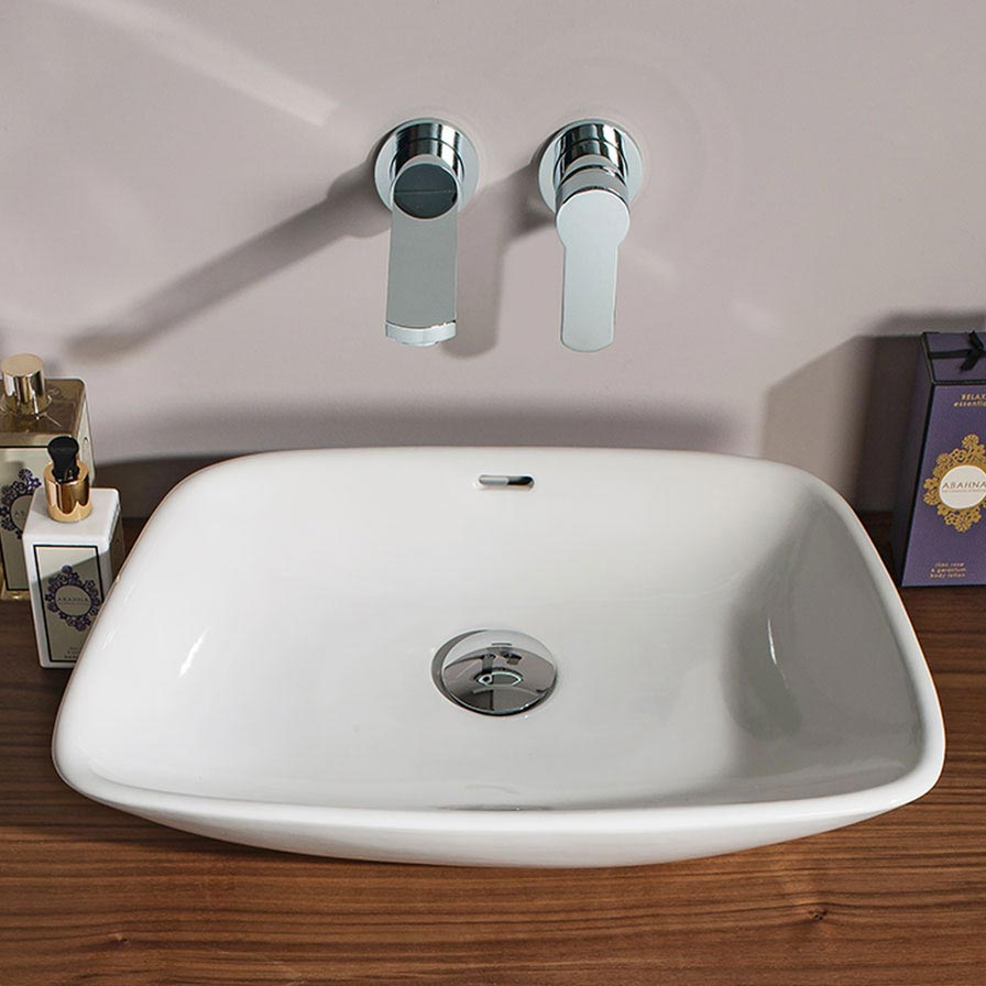 Bauhaus - Anabel Countertop Basin - 500 x 360mm Feature Large Image