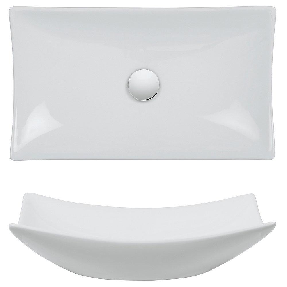 Bauhaus - Magdalena 2 Countertop Basin - 570 x 320mm Profile Large Image