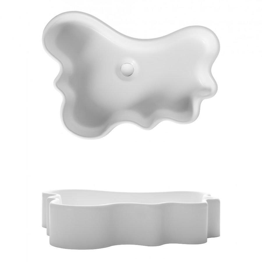 Bauhaus - Splash Countertop Basin - 570 x 410mm profile large image view 2