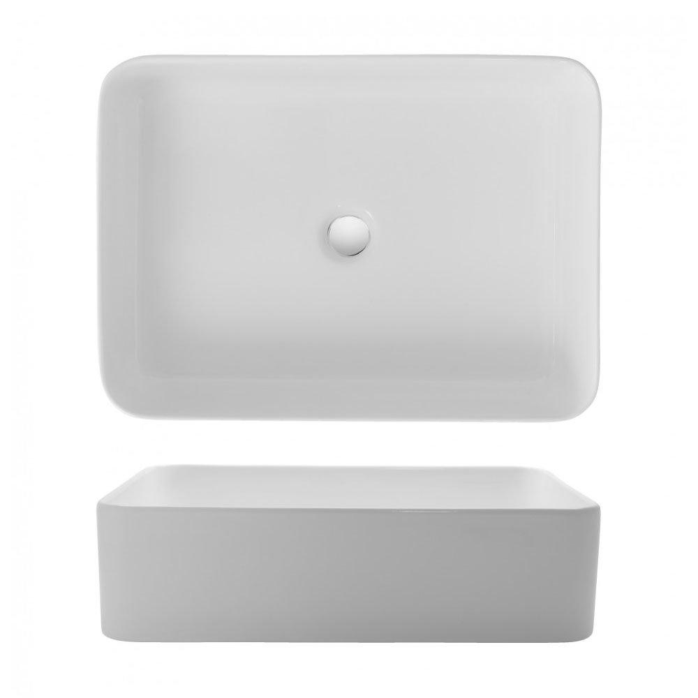 Bauhaus - Santa Fe Countertop Basin - 550 x 400mm profile large image view 2