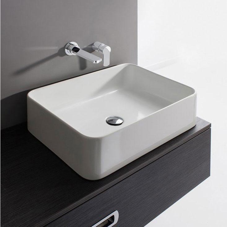 Bauhaus - Santa Fe Countertop Basin - 550 x 400mm Large Image