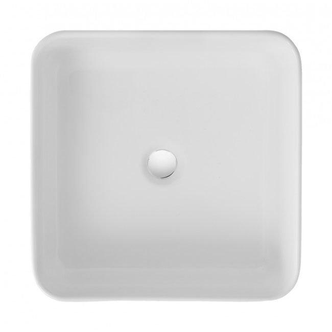 Bauhaus - Bold Countertop Basin - 400 x 400mm profile large image view 1