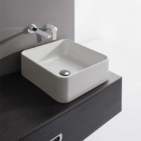 Bauhaus - Bold Countertop Basin - 400 x 400mm