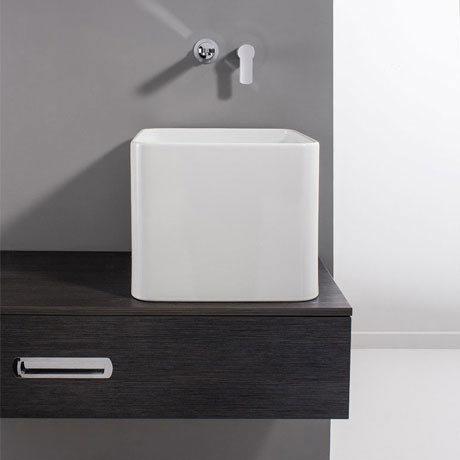 Bauhaus - Bold Tall Countertop Basin - 400 x 400mm