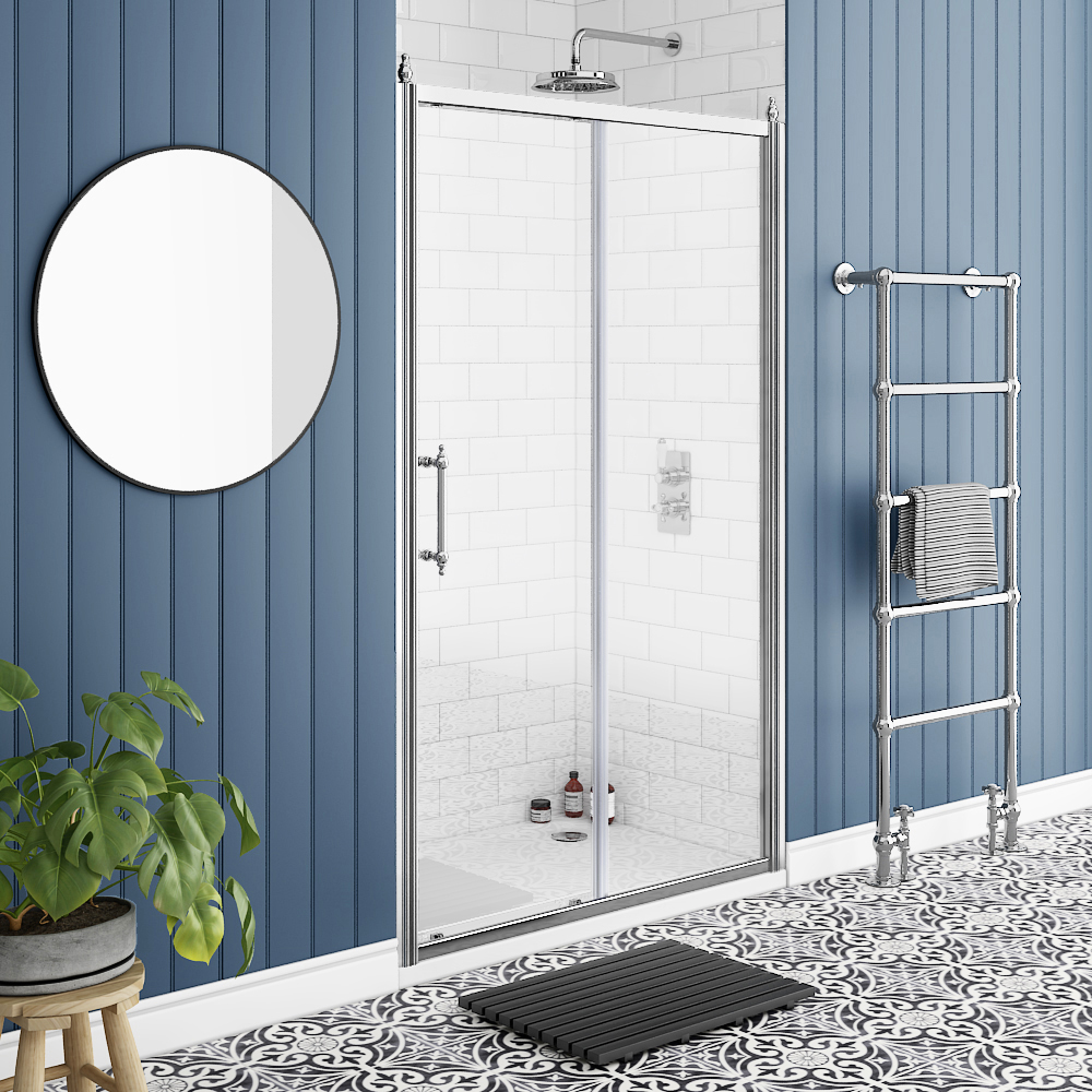 Chatsworth Traditional 1200 x 1850 Sliding Shower Door
