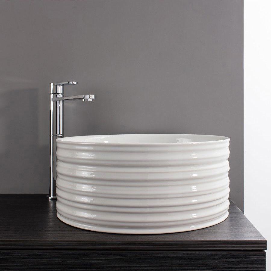 Bauhaus - Saturn Countertop Basin - 400 x 400mm Large Image