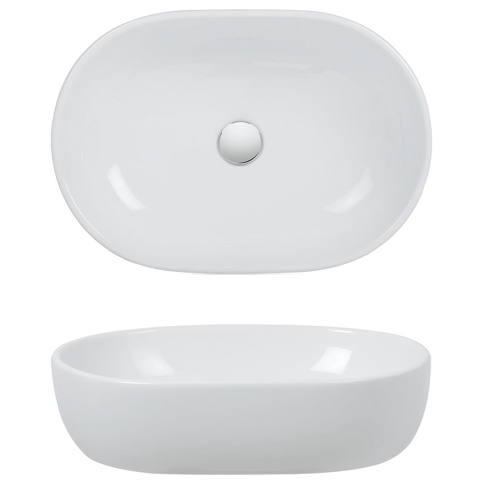 Bauhaus - Toulouse Countertop Basin - 590 x 415mm profile large image view 2