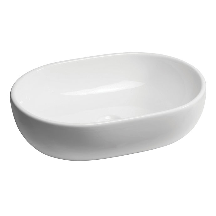 Bauhaus - Toulouse Countertop Basin - 590 x 415mm profile large image view 1