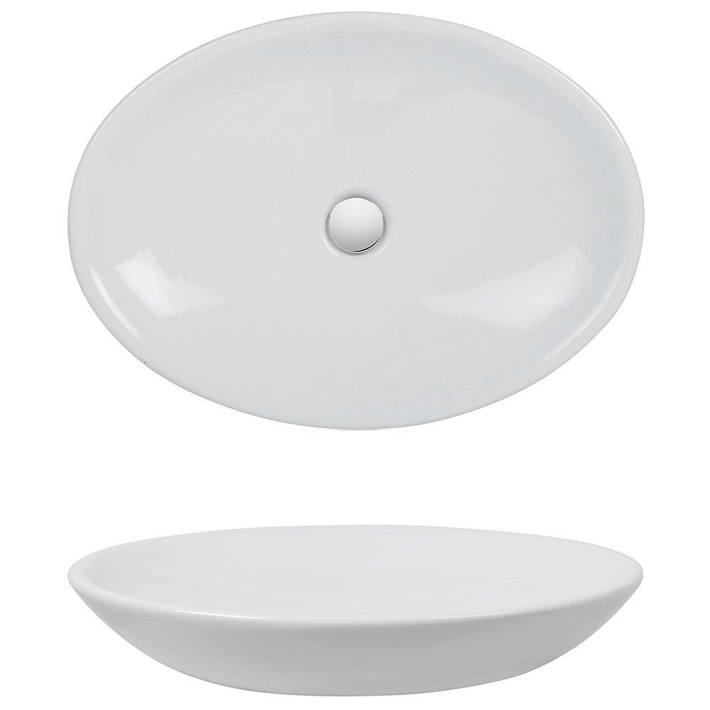 Bauhaus - Scoop Countertop Basin - 620 x 450mm profile large image view 2