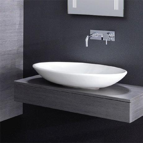 Bauhaus - Scoop Countertop Basin - 620 x 450mm