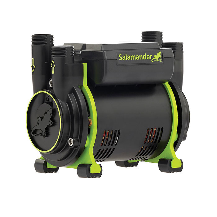 Salamander CT50+ Xtra 1.5 Bar Positive Head Shower Pump