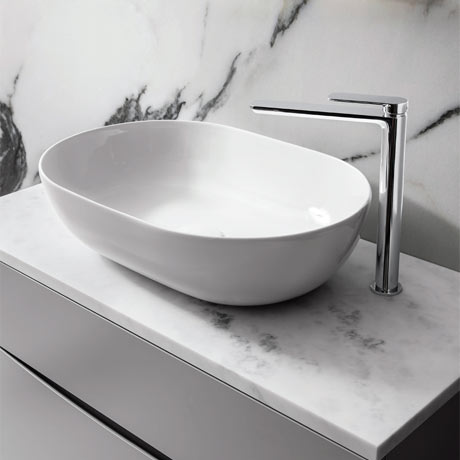 Bauhaus Avillas Countertop Basin - 540 x 360mm