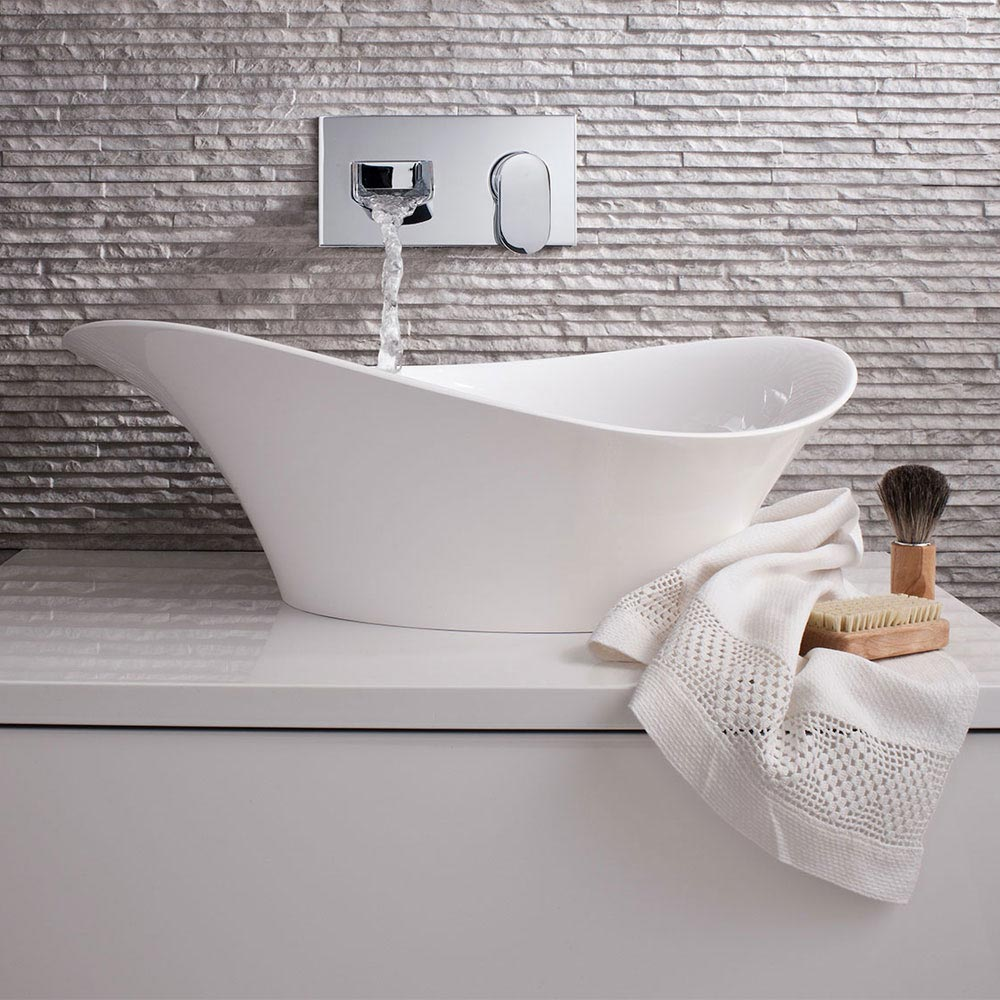 Bauhaus - Alice Countertop Basin - 560 x 327mm Feature Large Image