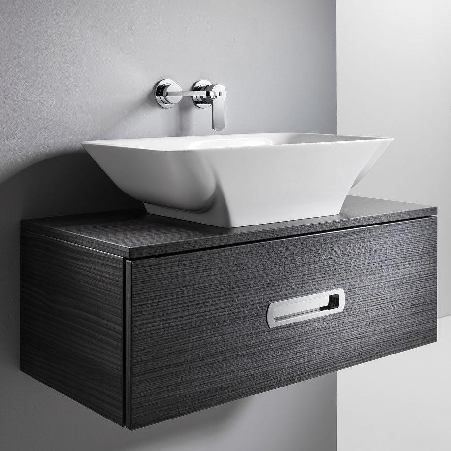 Bauhaus Hattie Countertop Basin - 358 x 596mm Large Image