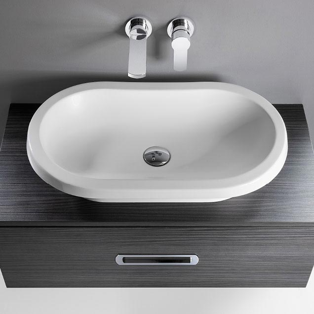 Bauhaus Monterey Countertop Basin - 307 x 602mm Feature Large Image