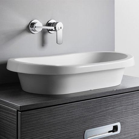 Bauhaus Monterey Countertop Basin - 307 x 602mm