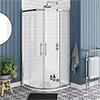 Chatsworth Traditional 900 x 900mm Quadrant Shower Enclosure profile small image view 1