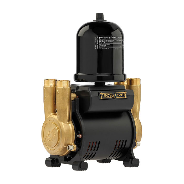 Salamander CT Force 15TU 1.5 Bar Twin Brass Ended Universal Shower Pump - CTFORCE15TU - quietest twin brass regenerative shower pump in the UK