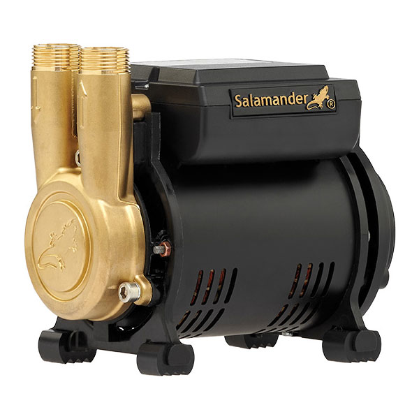 Salamander CT Force 20PS 2.0 Bar Single Brass Ended Positive Head Shower Pump profile large image view 1