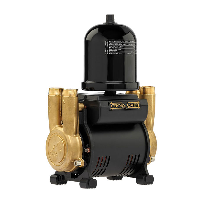 Salamander CT Force 20TU 2.0 Bar Twin Brass Ended Universal Shower Pump profile large image view 1