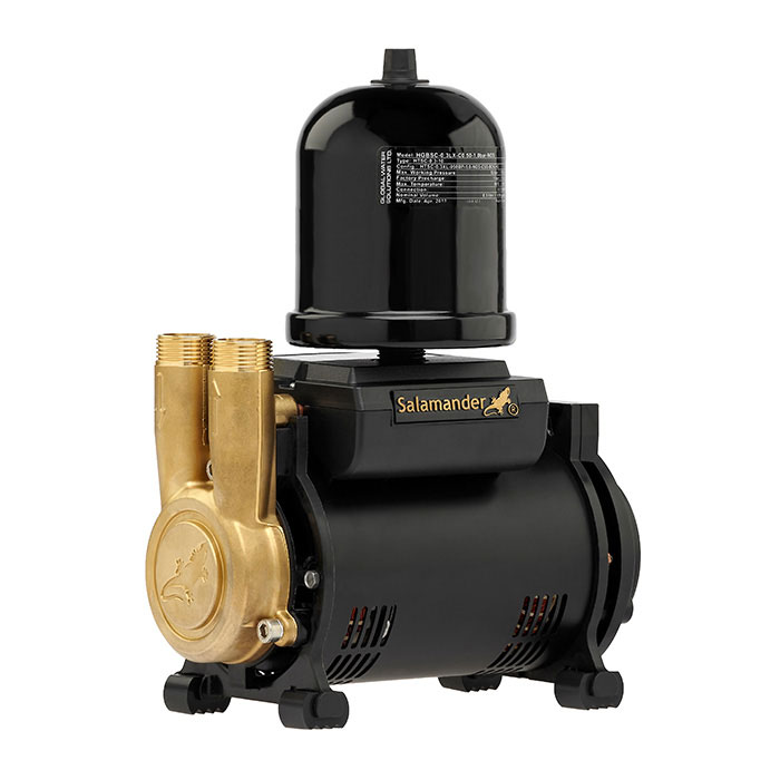 Salamander CT Force 30SU 3.0 Bar Single Brass Ended Universal Shower Pump profile large image view 1