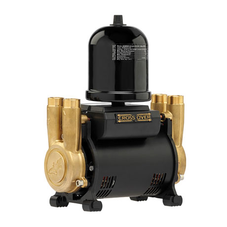 Salamander CT Force 30TU 3.0 Bar Twin Brass Ended Universal Shower Pump