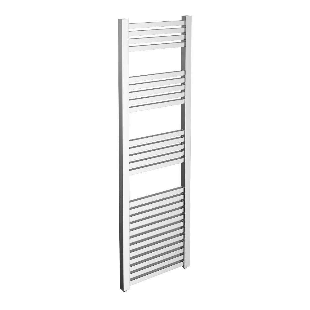 Cube Heated Towel Rail - Chrome (500 x 1600mm) Large Image