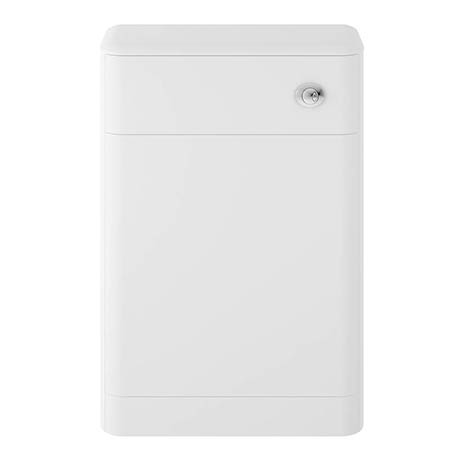 Hudson Reed Solar 550mm WC Unit - Pure White - CUR141