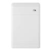 Hudson Reed Solar 550mm WC Unit - Pure White - CUR141 profile small image view 1