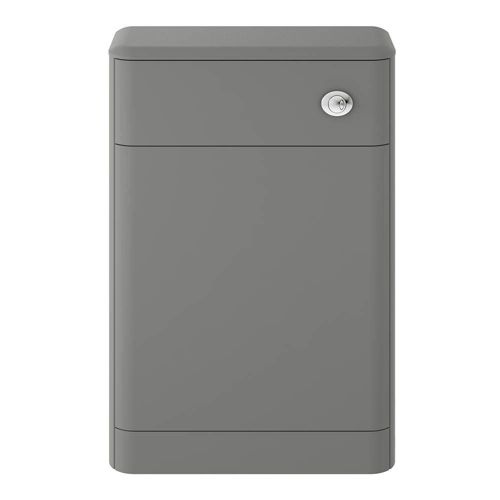 Hudson Reed Solar 550mm WC Unit - Cool Grey - CUR241