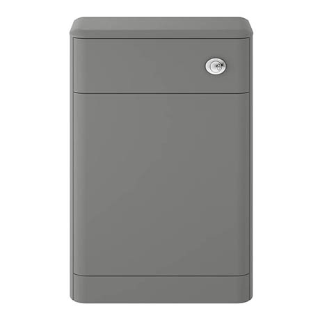Hudson Reed Solar 550mm WC Unit - Cool Grey - CUR241