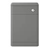 Hudson Reed Solar 550mm WC Unit - Cool Grey - CUR241 profile small image view 1