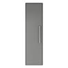 Hudson Reed Solar 350mm Wall Hung Tall Unit - Cool Grey - CUR262 profile small image view 1